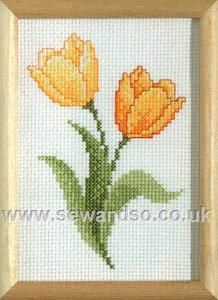 Buy+Yellow+Tulip+Cross+Stitch+Kit+Online+at+www.sewandso.co.uk