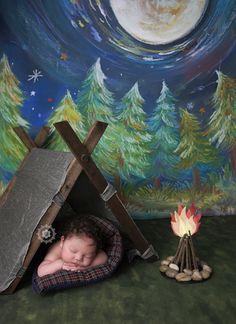Shannon Leigh Studios  #camping #newborncamping #tent #woods #campfire #newbornphotography #newbornphotographer #shannonleighstudios