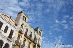 Havana Architecture and blue sky