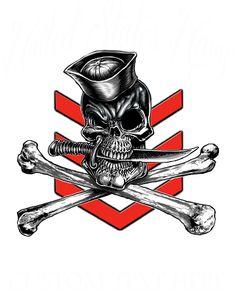 Navy 1st Class IYAOYAS Rate Shirt $19.95