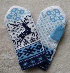 NORWEGIAN Scandinavian Hand Crafted 100% wool HAT and MITTENS Fur Pom Pom, Sheep Wool, Fox Fur, Warm And Cozy, Mittens, Reindeer, Folk Art, Scandinavian, Hats