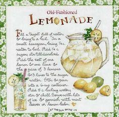 Susan Branch • Old Fashioned Lemonade