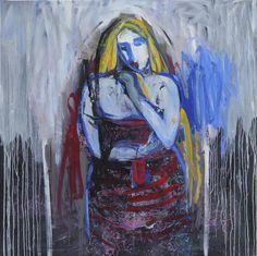 Sin título. Óleo sobre lienzo. 175 x 175 cm. 2009. Autor: Jorge Rando