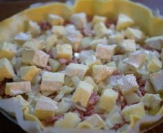 Savory potato and camembert pie Salty Tart, Tapas, Meat Recipes, Cooking Recipes, Cancer Fighting Foods, How To Cook Quinoa, Diet And Nutrition, No Cook Meals, Finger Foods