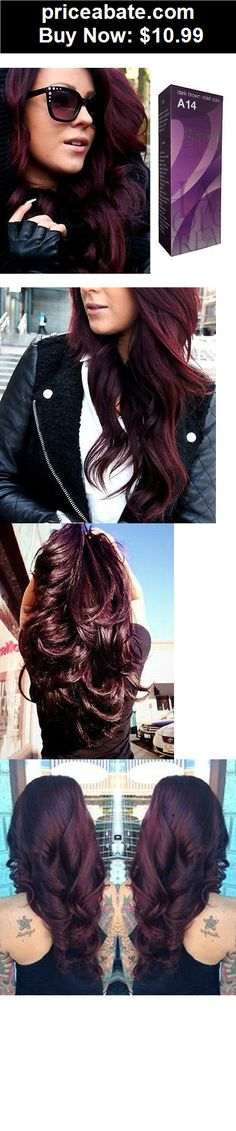 Hair-Color: Berina A14 Dark Brown Violet, HAIR DYE COLOR CREAM . Fashion Salon - BUY IT NOW ONLY $10.99