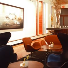 Aquavit, one of my favorite NYC restaurants. Great Nordic cuisine and interior design.