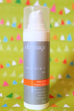 Improve C 20, da Dermage - Vitamina C, o segredo da beleza da sua pele. Produto com vitamina c em concentração de 20%, ajuda no combate aos radicais livres, manchas, rugas.