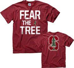 Stanford Cardinal Cardinal Fear the Tree T-Shirt