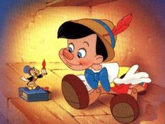 ディズニーピノキオのイラスト