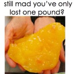 What a pound of fat looks like...