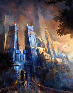 Gate of Babylon by Chris Ostrowski