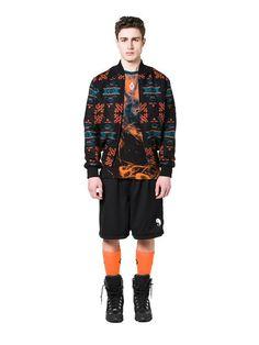 Shop Men all Fall 2016, Fall Winter, Bomber Jacket, Man Shop, Orange, Jackets, Blue, Men, Shopping