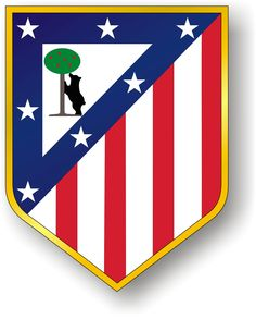 Vector logotype of Spanish football club Atletico Madrid, playing in the highest soccer league in Spain. Spain Football, Madrid Football, Soccer Logo, Football Team Logos, Spain Soccer, National Football Teams, World Football, Football Soccer, Soccer Teams