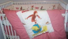 curious george bedding crib bedding nursery theme baby stuff gifts