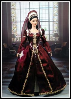 History Tonner doll Barbie Gowns, Barbie Dress, Barbie Clothes, Beautiful Barbie Dolls, Vintage Barbie Dolls, Pretty Dolls, Glamour Dolls, Victorian Dolls, Medieval Clothing