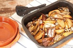 patatas asadas con vinagre