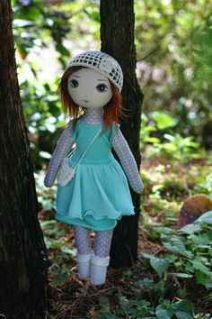 the hat.  the way the skin of the doll's body, arms and legs make the top and the tights