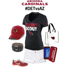 """Arizona Cardinals #DETvsAZ What To Wear"" by azcardinals on Polyvore"