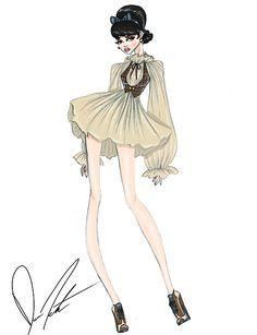 Disney fashion frenzy, Snow White, some day my prince will come. by Daren J