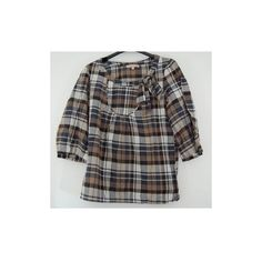 Blouse Sandro à carreaux - Inside Clothes - Vide dressing via Polyvore