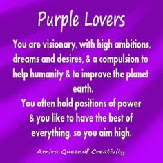 purple is the color of my life! | purple | pinterest | purple