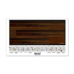 2017 Calendar Maple Wood Planks Wall Decal  More than 100 to choose from.  Follow this link   http://www.cafepress.com/cheylines/14087576