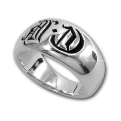 df8ffe0a1f2c Cheap Chrome Hearts Seal Stamp 925 Silver Ring  Chrome Hearts Ring  -   167.00