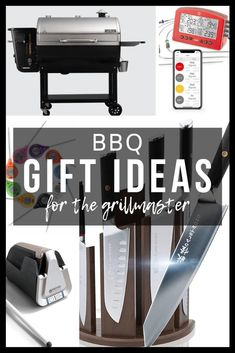Whether you have a birthday coming up, or Christmas is right around the corner, this post contains awesome BBQ Gifts for the Grillmaster in your life. We've included some of our favorite products to make shopping this season a breeze.
