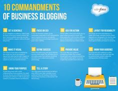 10 Commandments of Business Blogging