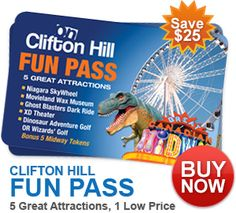 Clifton Hill Niagara Falls- Great fun for all! With Giveaway - Tales of a Ranting Ginger