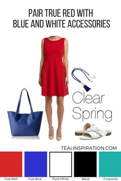 How to Wear Red if You're a Clear Spring