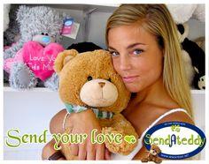 Send your love with http://www.sendateddy.net/ #sendateddy #teddybears