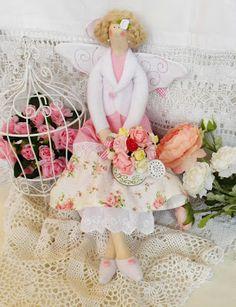 Tilda Workshop: Абигейл - фея розового сада