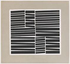 "Hélio Oiticica (1937 - 80)  ~  ""Metaesquema Numero 191"", 1958. Print.      #art #print #abstract"