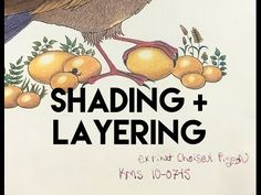 How to shade using colored pencils for adult coloring books! Layering for adult coloring books. - YouTube