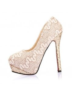 Heels and Wedges Lace Sequined High Heels 5319  2013 Fashion High Heels 
