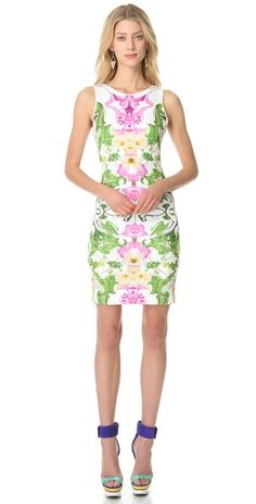 love this clover canyon floral dress