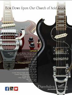 La flaca.... PureSalem Guitars