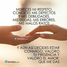 I love my husband ♡ The Words, More Than Words, Amor Quotes, Love Quotes, Inspirational Quotes, Couple Quotes, Qoutes, Frases Love, Love Is Everything