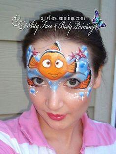 Risultato immagine per Disney Character Face Painting Designs