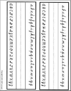 Printable Handwriting: Cursive Writing