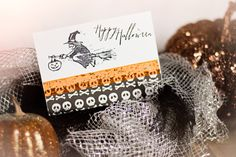 Soarin' by to say Happy Halloween Card by HoosierHappyMail on Etsy