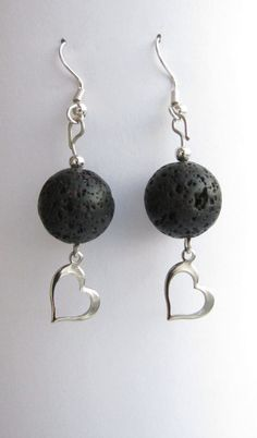 Icelandic Lava Earrings