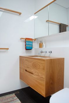 raw edge furniture: I'm just admiring your vanity...
