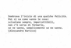 Citazioni, Alessandro Baricco