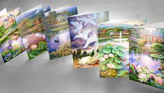 All Occasions 6 Assorted Cards Fine Art Collection  by FabFineArt, $9.00