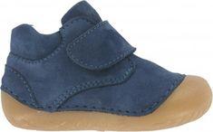 BNIB Clarks Jungle Zip Blue Metallic Leather /& Canvas First Boots F//G Fitting