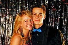 Teen Wolf's Dylan O'Brien and Britt Robertson...