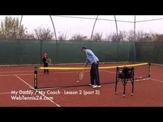 Kids Tennis Lesson (live) - part 3 - how to teach tennis to little kids (age 4 - 10) - see full lesson at WebTennis24.com
