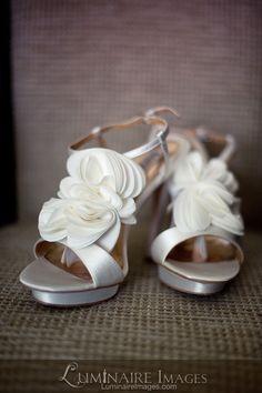 """Badgley Mischka """"Randee"""" bridal shoes"""